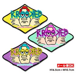 画像1: Krooked Arketype Sticker 【メール便OK】
