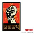 OBEY Sticker <Obey Giant FIST> 【メール便OK】