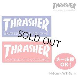 画像1: Thrasher small logo sticker 【メール便OK】