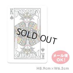 画像1: Thrasher trump card sticker 【メール便OK】