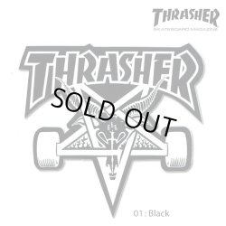 画像2: Thrasher SK8 GOAT Big Board sticker【メール便OK】