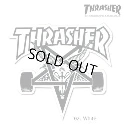 画像3: Thrasher SK8 GOAT Big Board sticker【メール便OK】