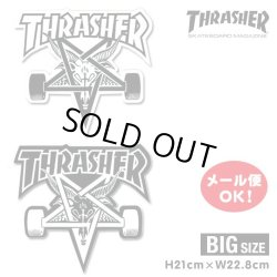 画像1: Thrasher SK8 GOAT Big Board sticker【メール便OK】