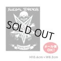 SUICIDAL TENDENCIES Possessed 4.25inch Sticker(Black)