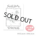 SUICIDAL TENDENCIES  Skater Sticker (PaperType)