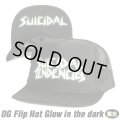SUICIDAL TENDENCIES OG Flip Mesh Hat Glow in the Dark (Black)