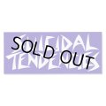 SUICIDAL TENDENCIES Logo Sticker (Blue/White)