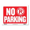 Sign Plate [NO PARKING]