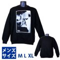 Estevan Oriol  LA Hands Men's Crewneck Sweatshirt  (Black) 【M】【L】 【XL】エステヴァン オリオール LAハンズ トレーナー