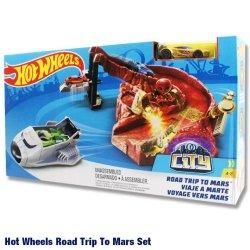 画像1: Mattel Hot Wheels Epic Adventure ROAD TRIP TO MARS(gold car)