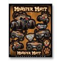 D'COR MONSTER JAM DECAL SHEETS<MONSTER MUTT>