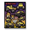 D'COR MONSTER JAM DECAL SHEETS<El Toro Loco>