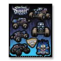 D'COR MONSTER JAM DECAL SHEETS<Son-Uva Digger>