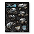 D'COR MONSTER JAM DECAL SHEETS<NEA>