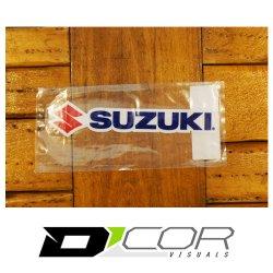 画像2: D'COR 6 inch Suzuki Decal 【メール便OK】