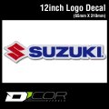 D'COR 12 inch Suzuki Decal