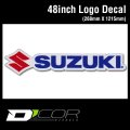 D'COR 48 inch Suzuki Decal