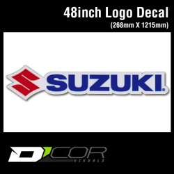 画像1: D'COR 48 inch Suzuki Decal