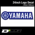 D'COR 24 inch Yamaha Decal