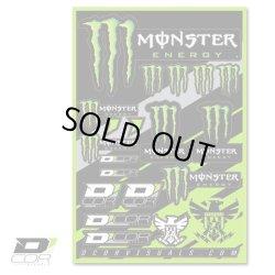 画像1: D'COR Monster Energy 4mil Decal Sheet