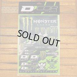 画像2: D'COR Monster Energy 4mil Decal Sheet