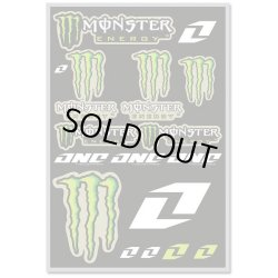 画像1: One Industries MONSTER ENERGY DECAL SHEET