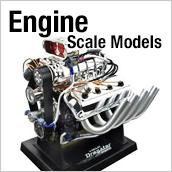 エンジンスケールモデル