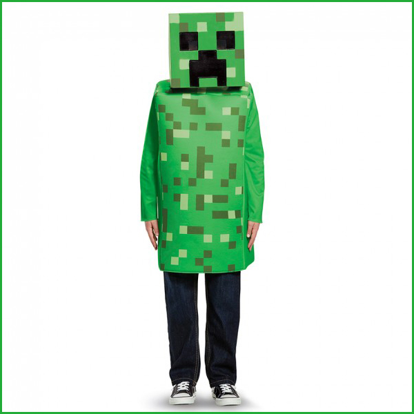 Minecraft creeper costume toddler 1 minecraft creeper classic toddler voltagebd Image collections